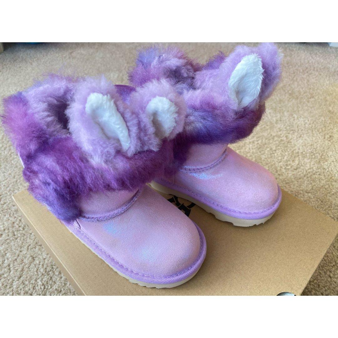 UGG新款女童靴