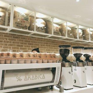 考文特花园,arabica cafe