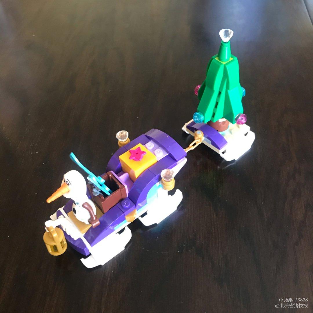 Frozen O'lef Lego好禮