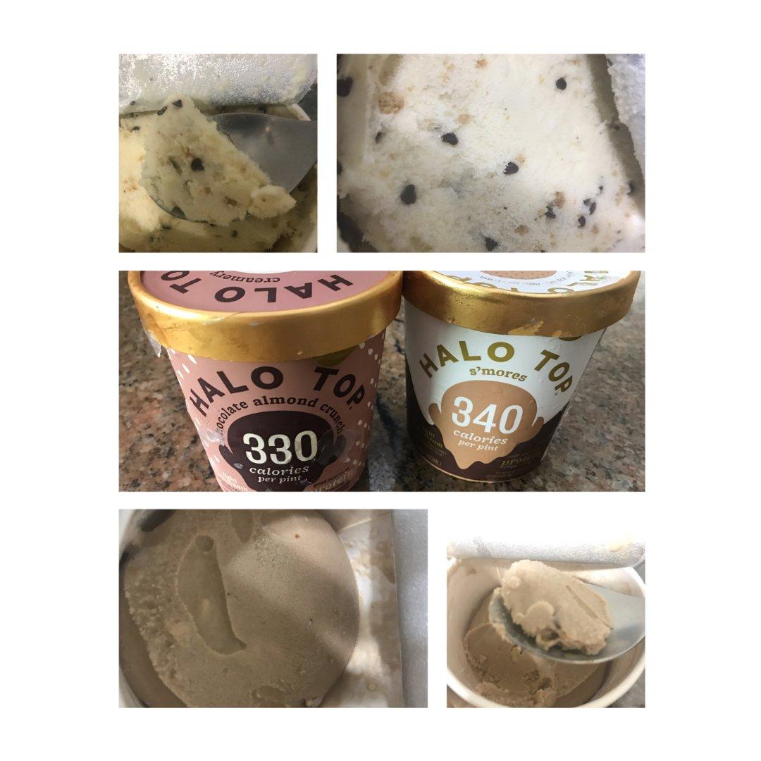 5⃣️Halo top低卡冰淇凌拔草