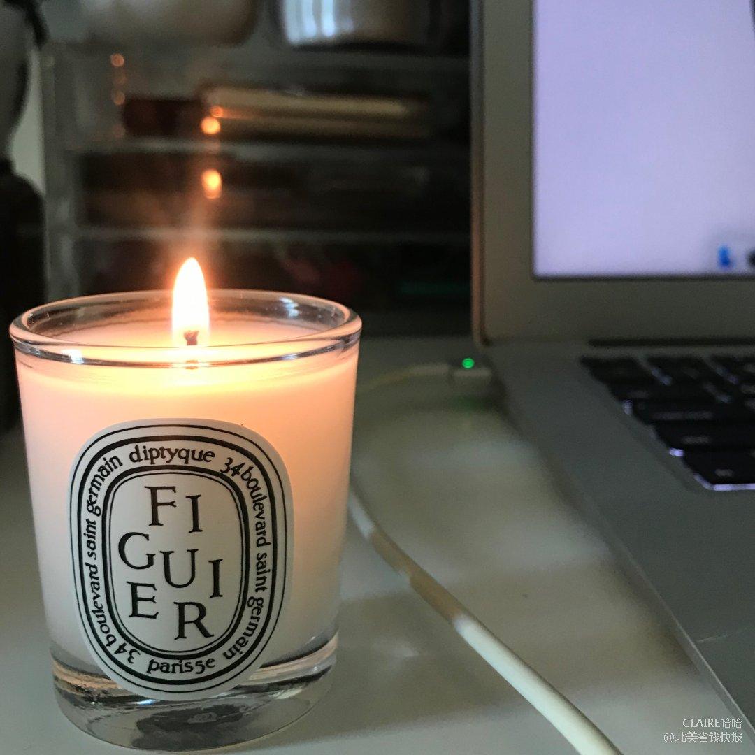 diptyque蜡烛 无花果味 奶...