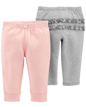 2-Pack Pull-On Pants | Carters.com