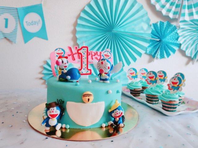 翻糖蛋糕-小叮当帮你实现所有的愿望