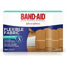 $5.45 Band-Aid Brand Flexible Fabric Adhesive Bandages For Minor Wound Care, 100 Count