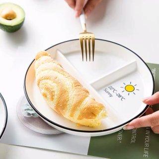 生活小记 | 新买的餐盘超喜欢😘...