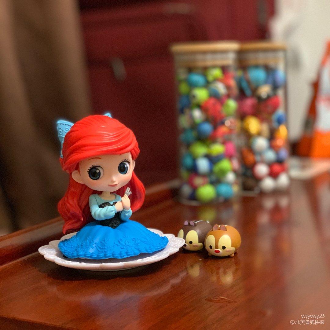 迪士尼公主手办