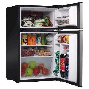 $139Whirlpool 3.1cu. ft. Mini Refrigerator Stainless Steel