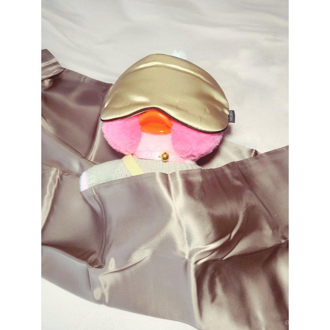 真丝枕套+眼罩,让睡觉成为一天中最...