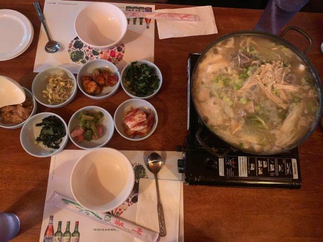 背景墙5: 韩国餐厅