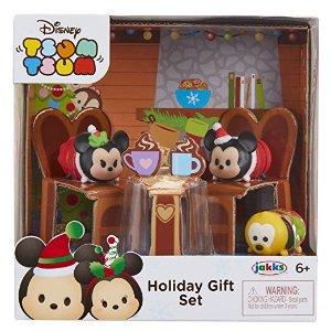 $3 Tsum Tsum Exclusive Holiday Mickey & Minnie Gift Set Playset