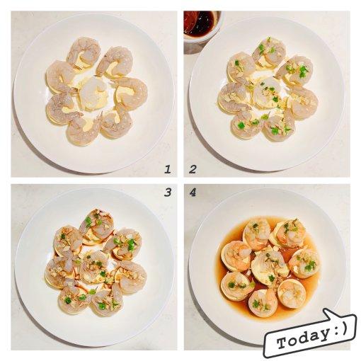 工作便当🍱分享 | 换季要吃健康营养的玉子豆腐蒸虾🍤