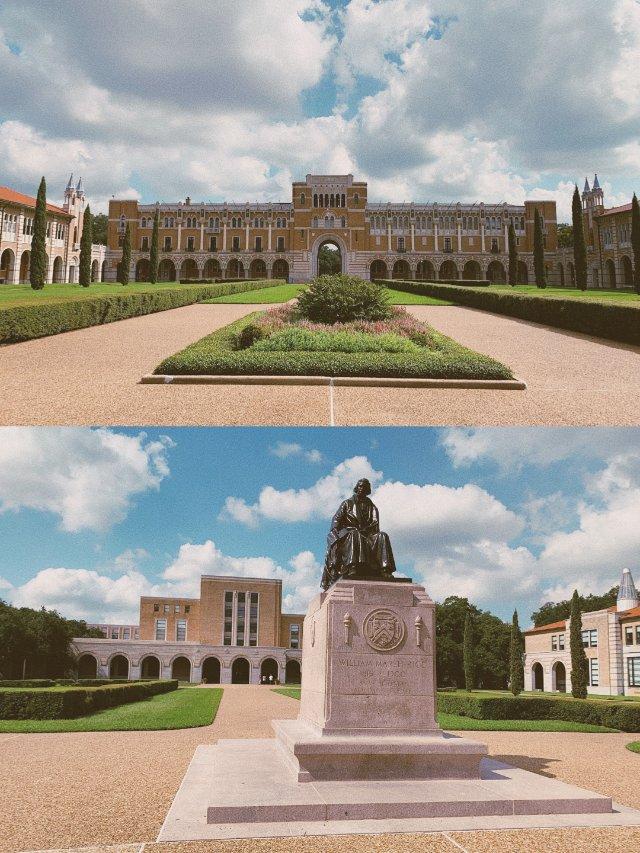 旅游|Houston莱斯大学 拍照...