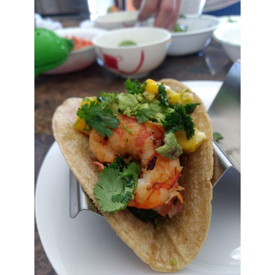 Homemade shrimp t...