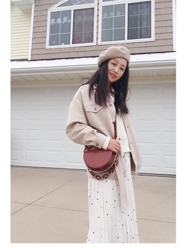 🍁秋日穿搭 |一条四季都能穿的裙子🍁