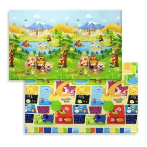 BABY CARE™ Large Baby Play Mat in Let's Go Camping - BuyBuyBaby