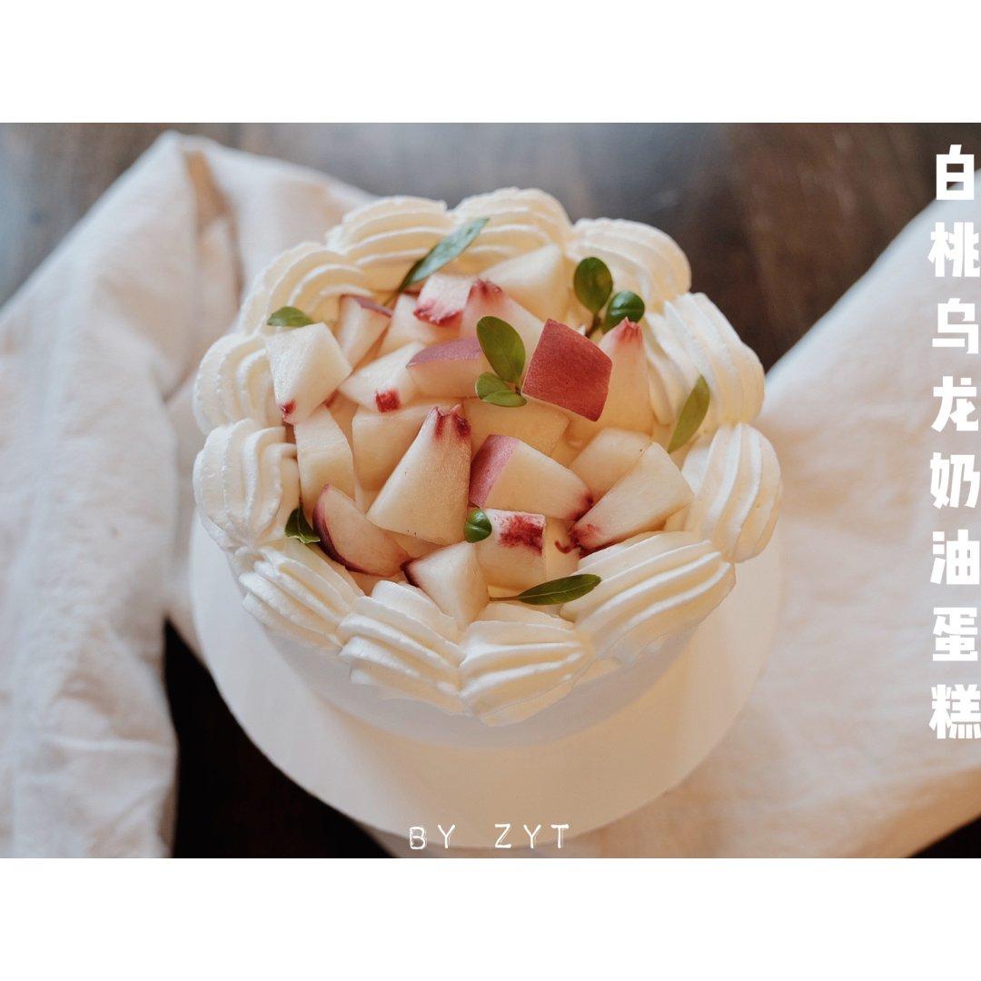 轻松get清香🍑白桃乌龙奶油🍑一口...