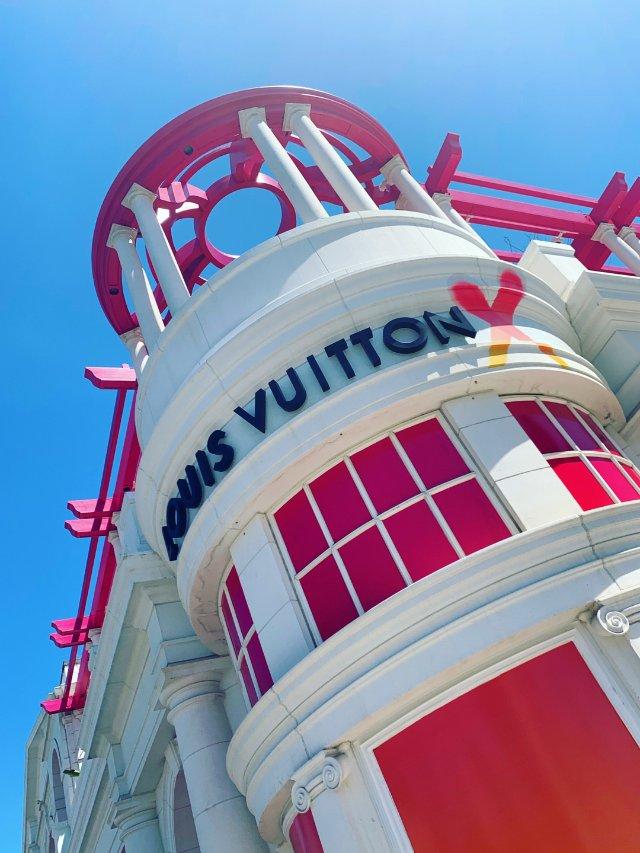洛杉矶LV展 Louis Vuit...