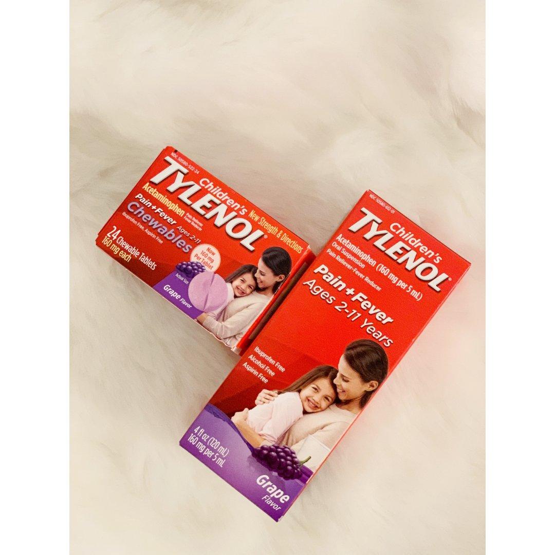 【Tylenol】家里必备‼️儿童...
