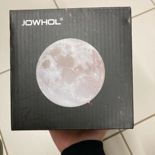 月球灯到货