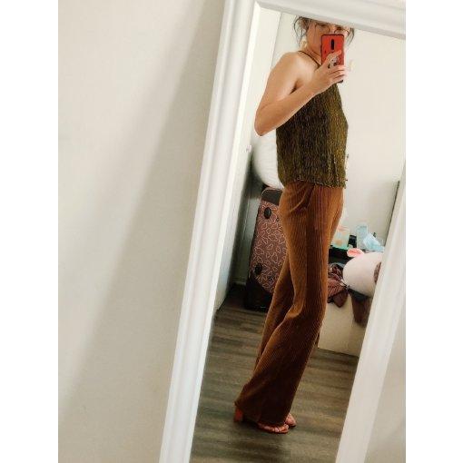 一周穿搭挑战| 超棒的一条复古风裤子!修饰腿型我可以!
