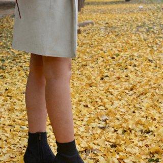 微众测    Pedder Red 深灰色麂皮高跟踝靴
