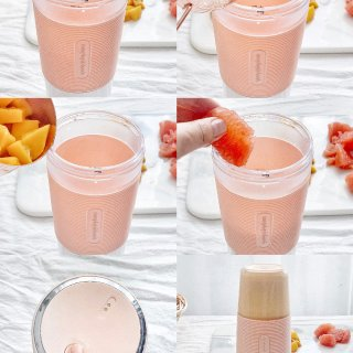 春天就要粉粉哒 分享一只便携榨汁🍊杯...