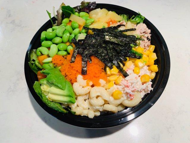 美食分享   换季要吃健康Poke🥗
