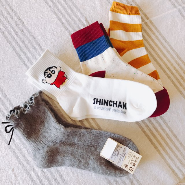 袜子也要美美哒
