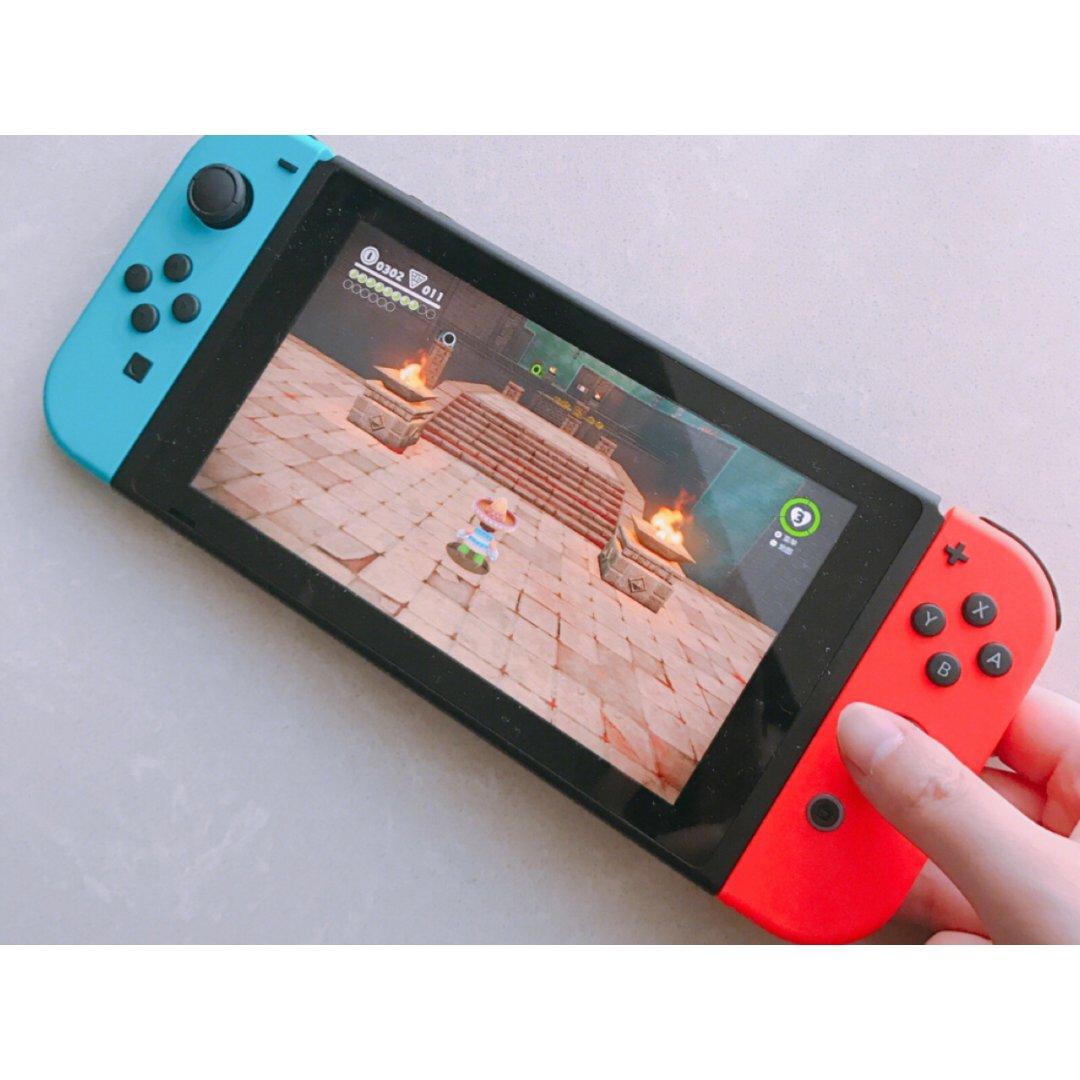 入手Switch秒变游戏🎮少女