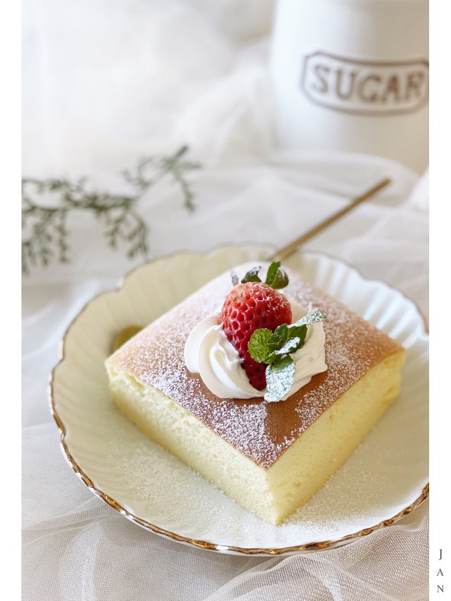 甜品DIY |古早蛋糕