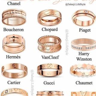 13款玫瑰金奢侈品戒指,你Pick哪一款...