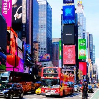 Times Square 时代广场...