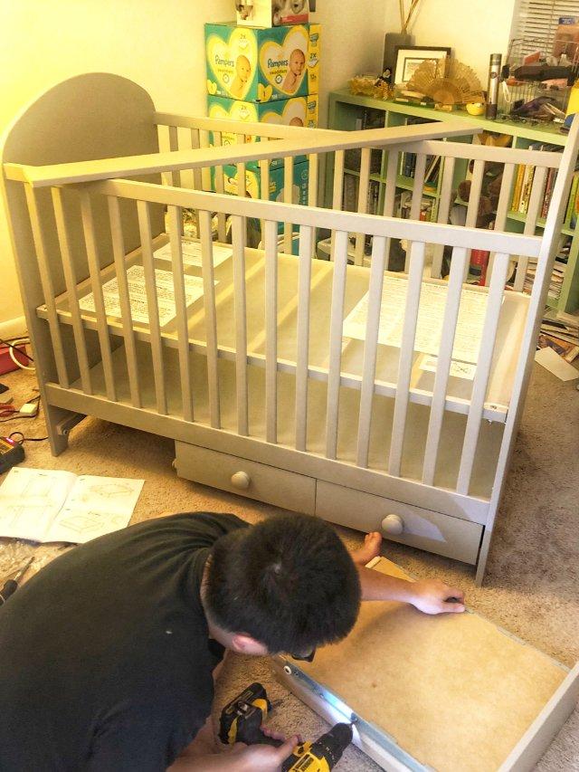 婴儿床准备就绪