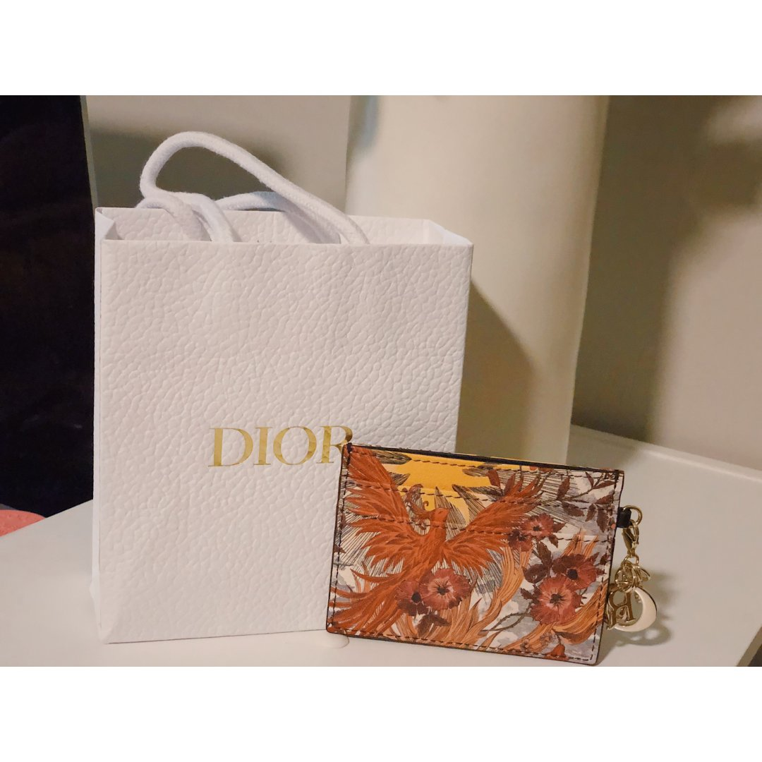 Dior凤凰卡包