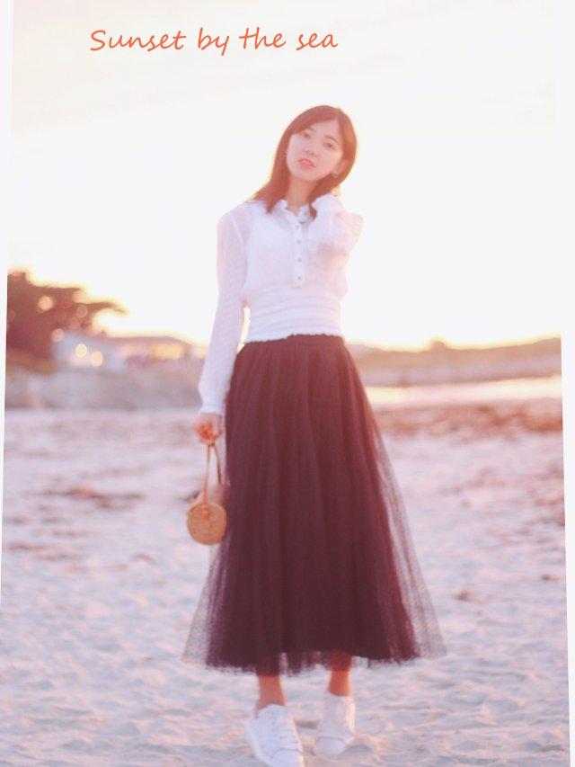 穿搭 | 蕾丝.掀起纱裙的黑白配⚫️⚪️