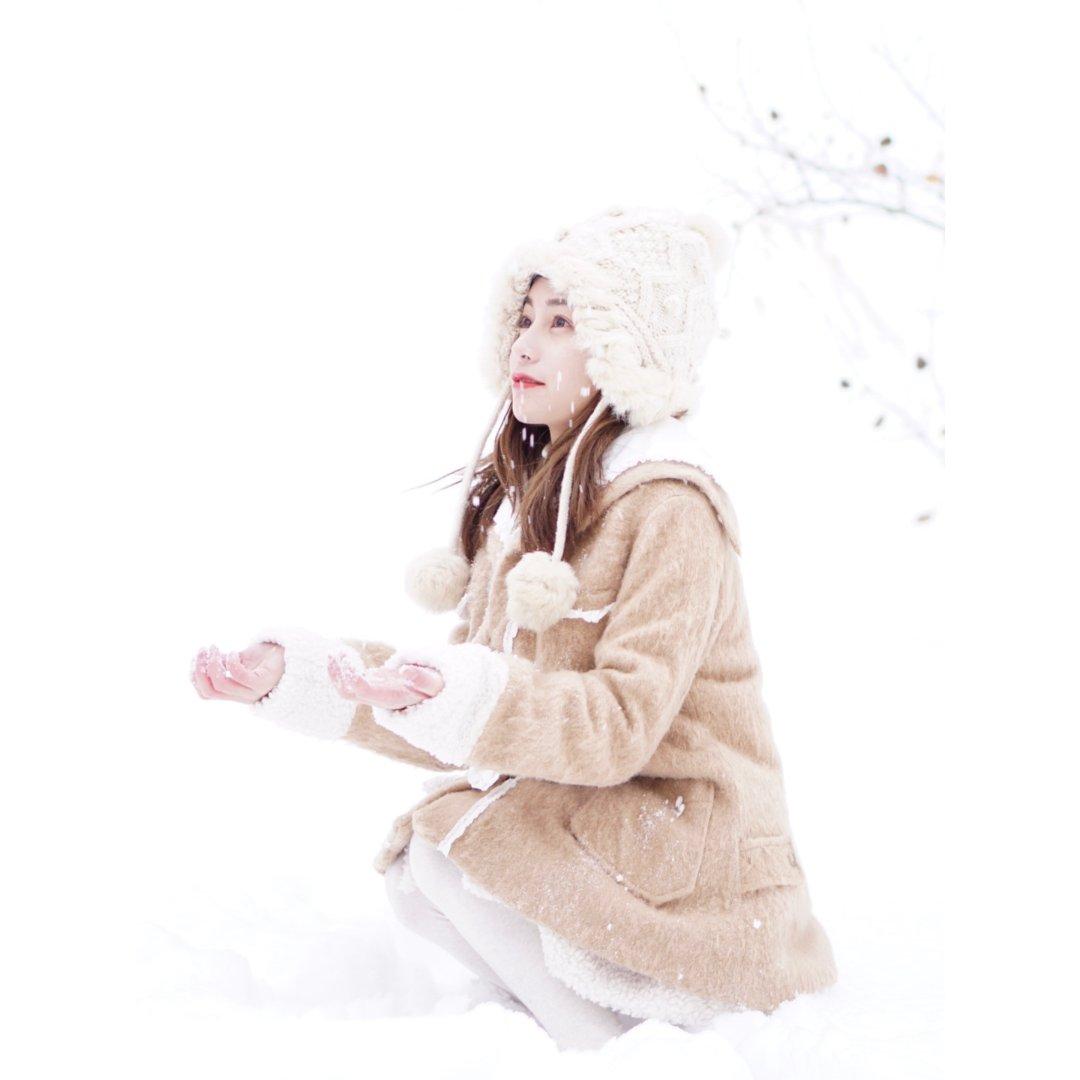 我在雪的童话世界里呀 ❄️❄️