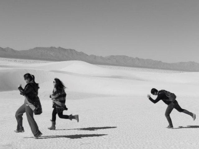 来一组黑白大片·浪漫纯白的白沙国家公园