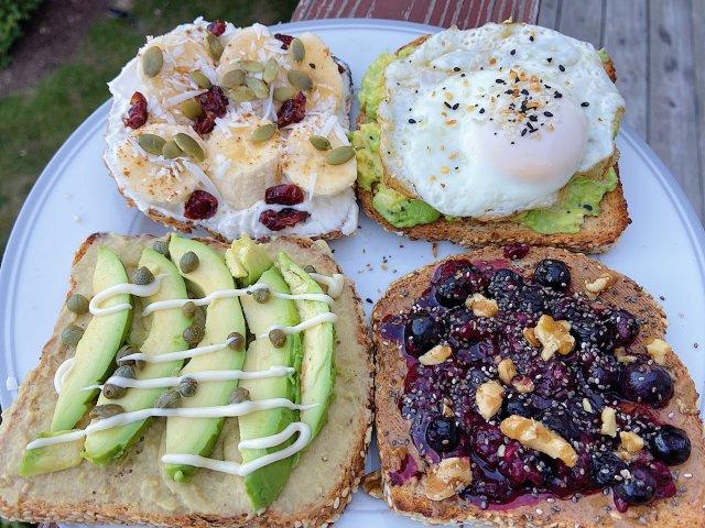 分享四种早餐快手toast🍞 超好吃🥰