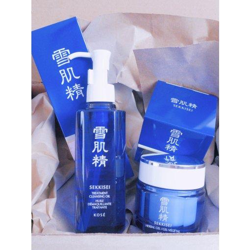 适合亚洲人肤质的水蓝密钥 | 雪肌精两步曲套装