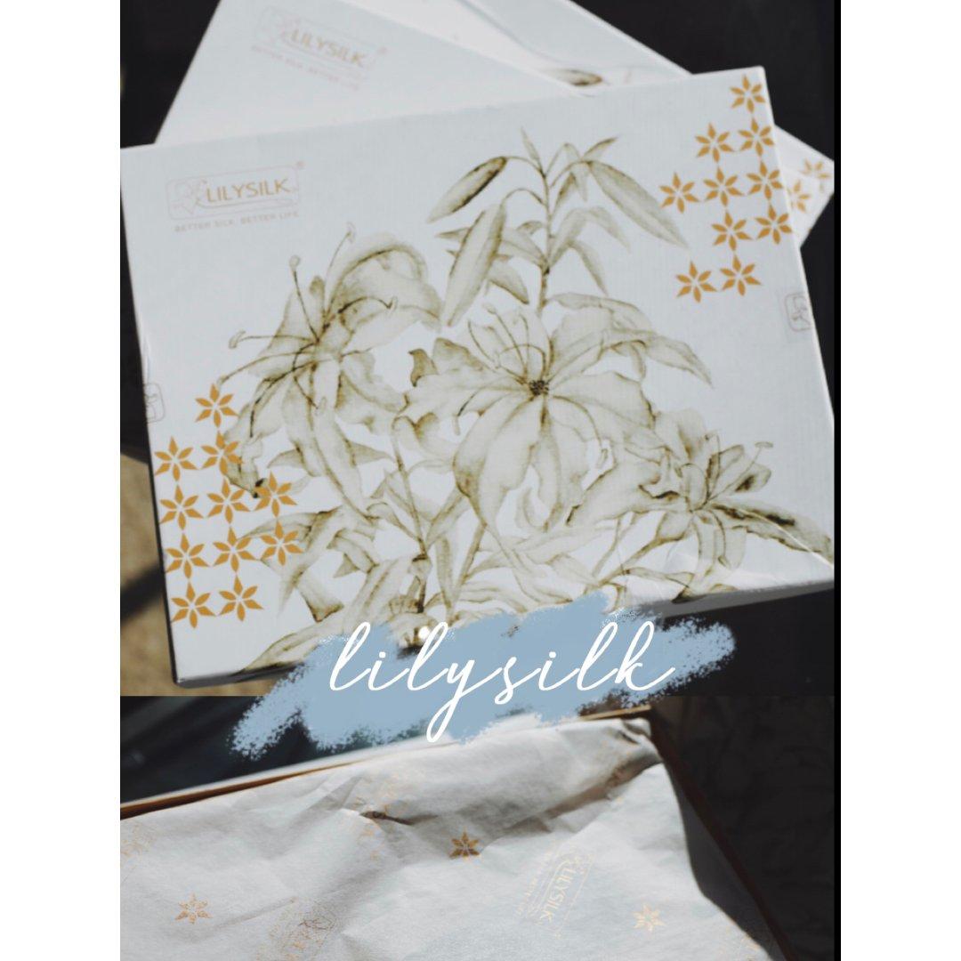 开箱记 |Lilysilk丝滑质感初体验