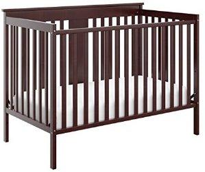 $94Stork Craft Mission Ridge Fixed Side Convertible Crib & More @ Amazon