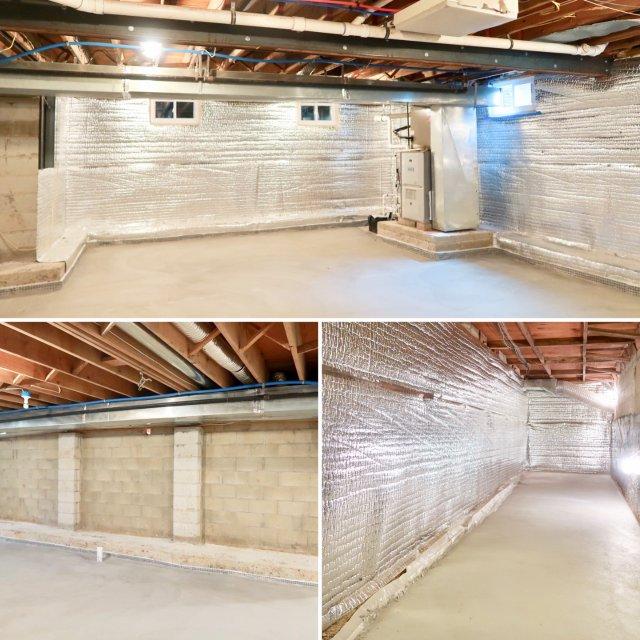 改造地下室 work in pro...