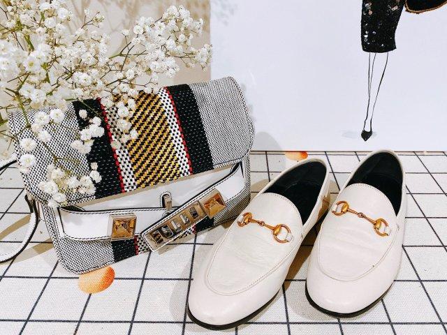 包包鞋子一个色打卡4 白色
