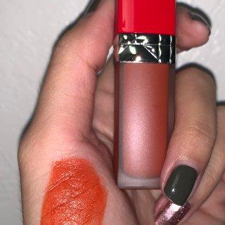 Dior 707 新款液体唇釉 试色对比