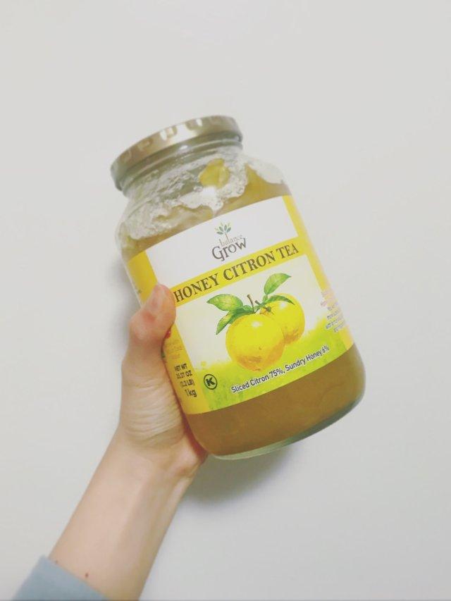 蜂蜜柚子茶-喝出好皮肤