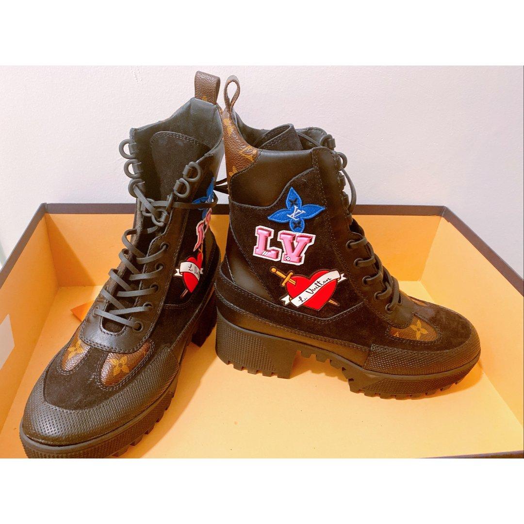 LV情人节限定靴子