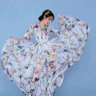 🐰|「碎花裙如何选不乡土」迷人的碎花裙子...