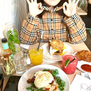 纽约探店🤏 网红 Brunch🔥 Egg...