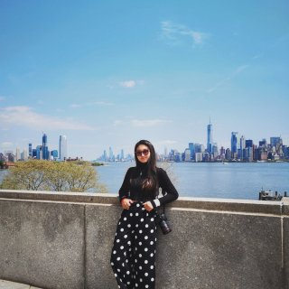 曼哈顿,坐渡轮看曼哈顿