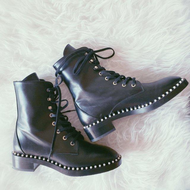 秋冬短靴 | SW珍珠马丁靴